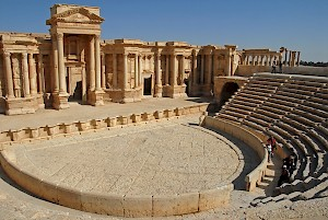 Palmyra, theater