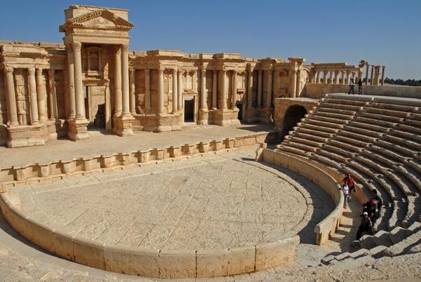Palmyra, theater