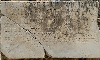 Cyrene, inscription mentioning the Jewish Revolt (AE 1928, 2)