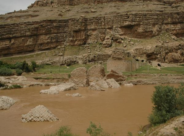 Pol-e Dokhtar, Collapsed part
