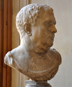 "Portrait of a man, third quarter of the first century CE (the so-called ""Vitellius"")"