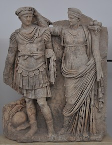 Dynastic art: Nero and Agrippina Minor (Aphrodisias, Sebasteion)