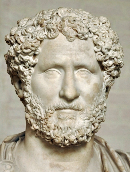 Portait of a Roman, third quarter of the second century CE