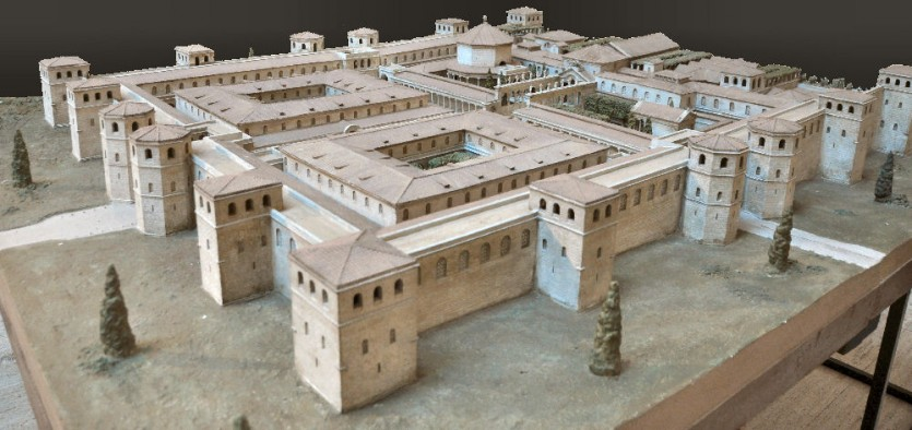 Diocletian's palace, model