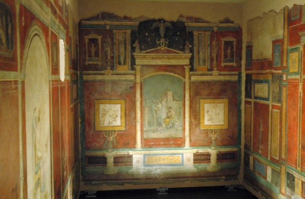 Frescos from the Villa Farnesina: the house of Agrippa and Julia