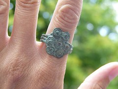Iron Age ring from western Parthia