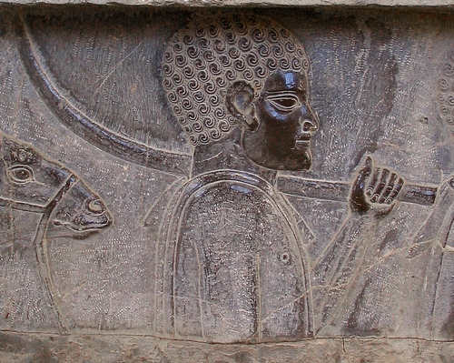 A Nubian. Relief from the East Stairs of the Apadana, Persepolis