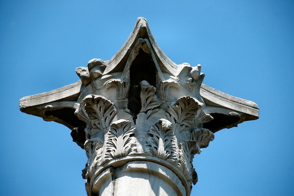 Column of the Goths, capital