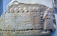A Sumerian phalanx on the Vulture Stele from Lagash