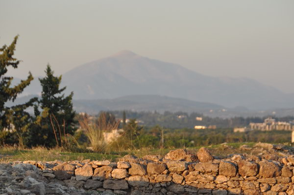 Mount Saphon, north of Ugarit.