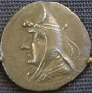 Arsaces I, coin