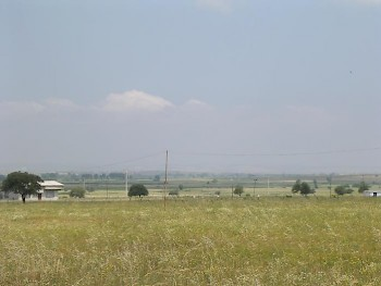 The plain east of the Granicus