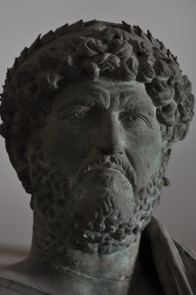 Adana, bust of Hadrian. Archaeological Museum, Istanbul (Turkey)