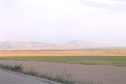 The Phrygian plain, somewhere west of Sivrihisar (Turkey)