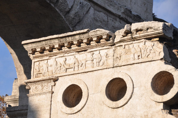 A bakery (Tomb of Eurysaces, Rome )