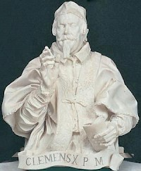 Bernini's statue of Clement X