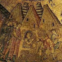 Joseph in Egypt (Mosaic in San Marco's basilica in Venice)