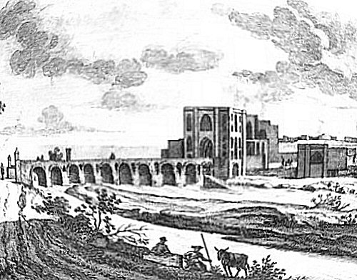 De Bruijn, Isfahan, Sharestan Bridge