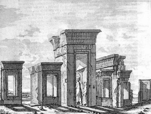De Bruijn, Palace of Darius