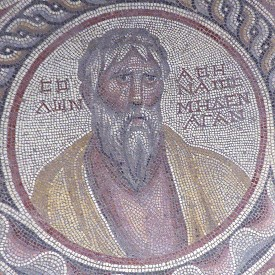 Solon, mosaic from Suweydie near Baalbek