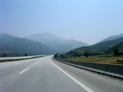 The Bahce Pass across the Amanus Mountains