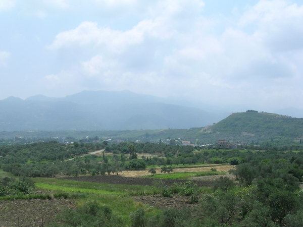 The Bargylus Mountains, seen from the road from Antioch to Seleucia.