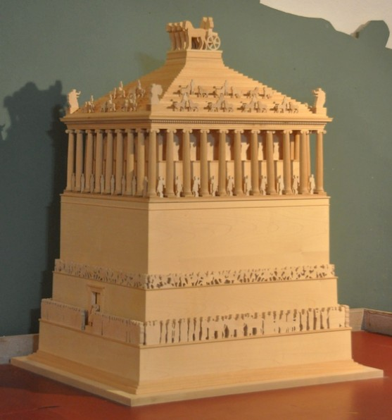 Mausoleum of Halicarnassus, model