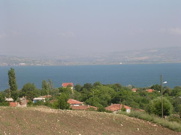 View across the Hellespont, from Asia to Europe (Aigospotamoi)
