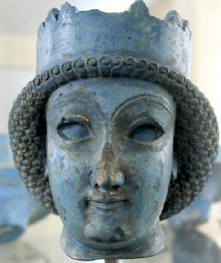 Achaemenid woman (or a beardless prince)