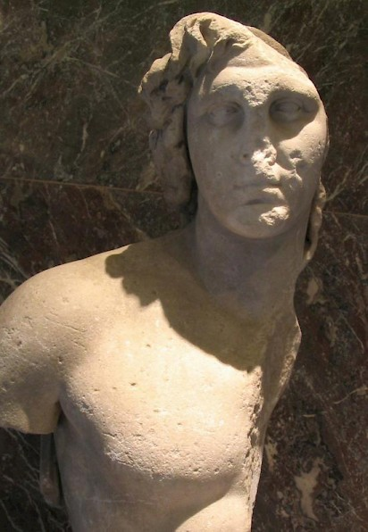Alexander the Great. Portrait from Delos