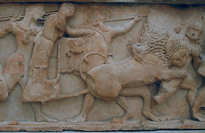 Gigantomachy (Treasury of the Siphnians, Delphi)