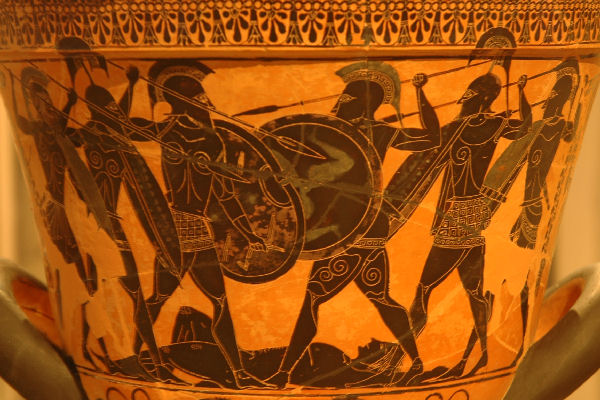Fight for Patroclus' corpse