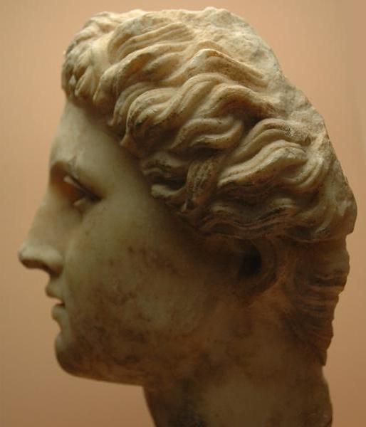 Rhodes, Portrait of Alexander the Great