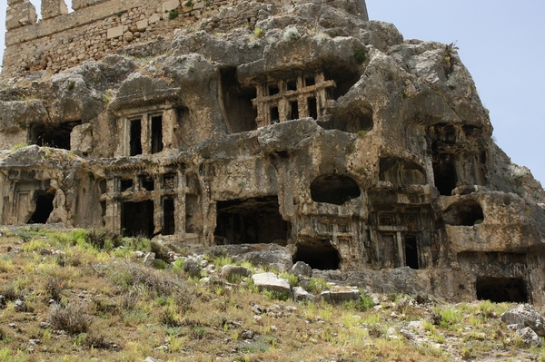 Tlos, rock tombs