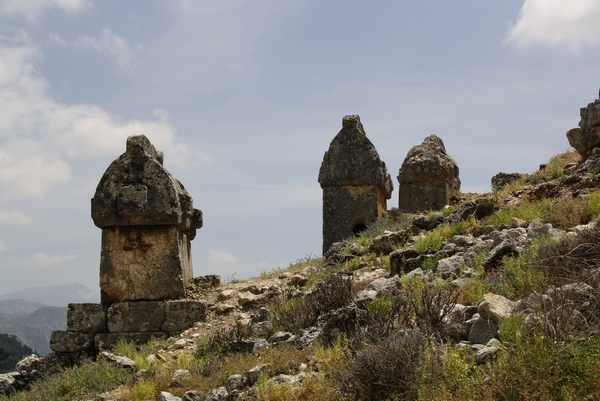 Tlos, house tombs