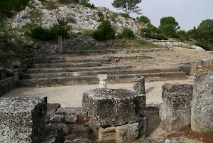 Glanum, Council House (Bouleuterion)