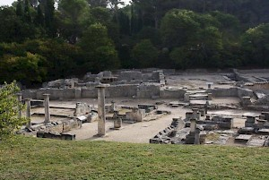 Glanum, forum