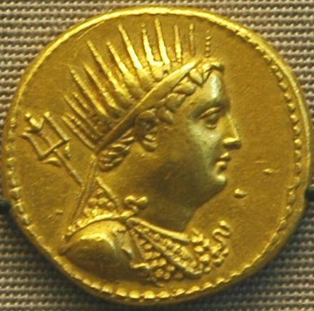 Ptolemy III Euergetes, coin