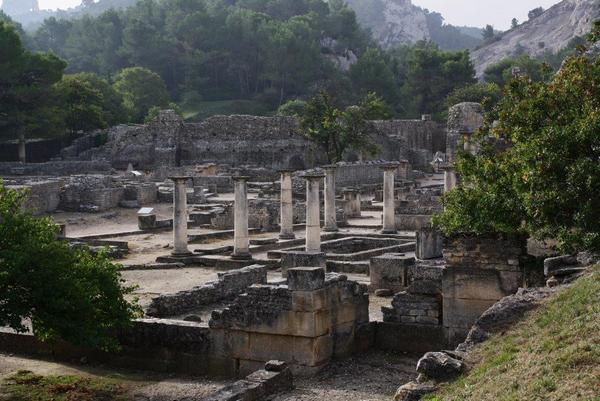 Glanum, general view