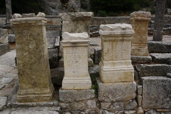Glanum - Shrine of Hercules