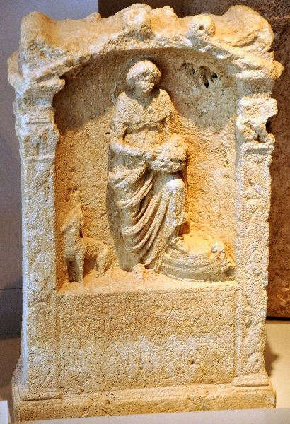 Votive to Nehalennia (4)