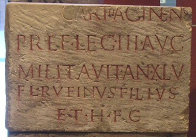 Cologne, Tombstone of an officer of III Augusta