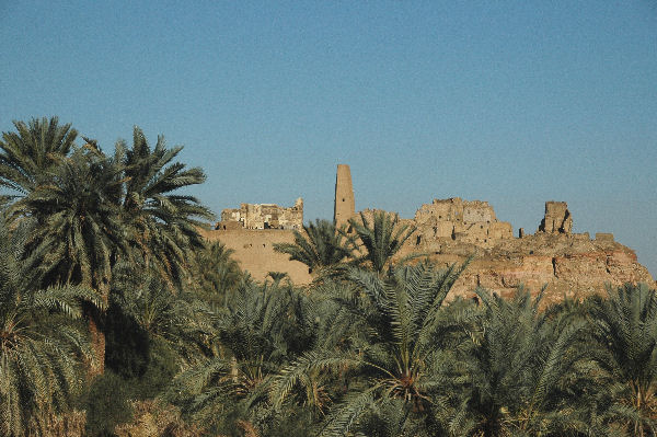 Siwa, oracle with medieval minaret