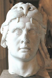 Mithridates VI Eupator of Pontus. Louvre, Paris (France)
