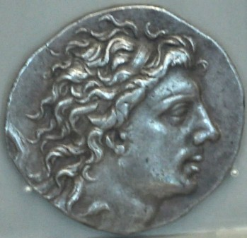 Coin of Mithridates VI Eupator of Pontus. Altes Museum, Berlin (Germany)