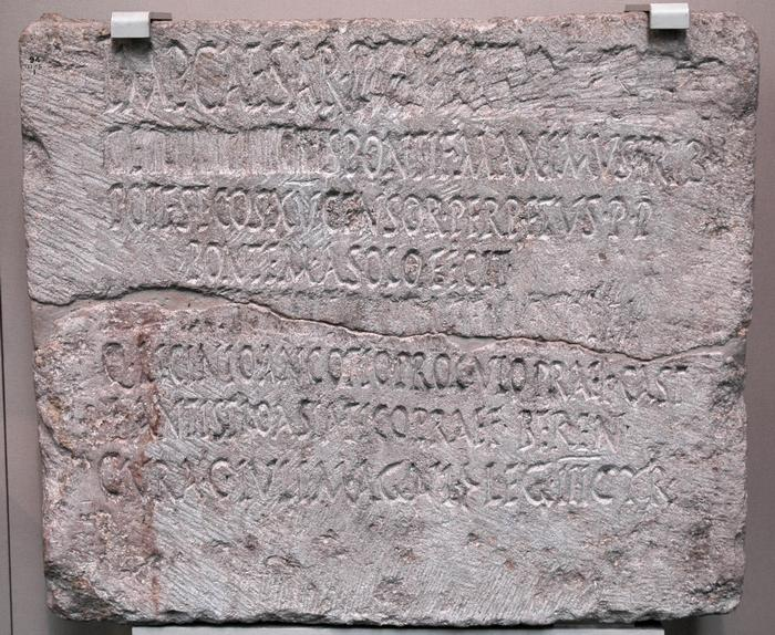 Inscription from Koptos, mentioning III Cyrenaica