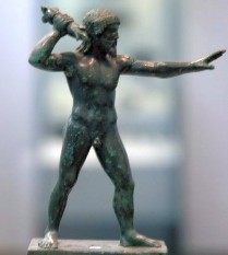 Zeus Keraunos from Dodona. National Archaeological Museum, Athens (Greece).