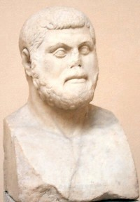 Themistocles. Museum of Ostia (Italy)