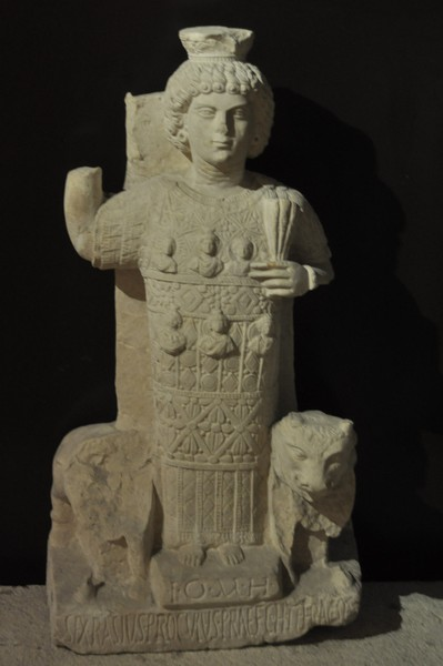 Jupiter Heliopolitanus from Palmyra. Archaeological Museum of Istanbul (Turkey)