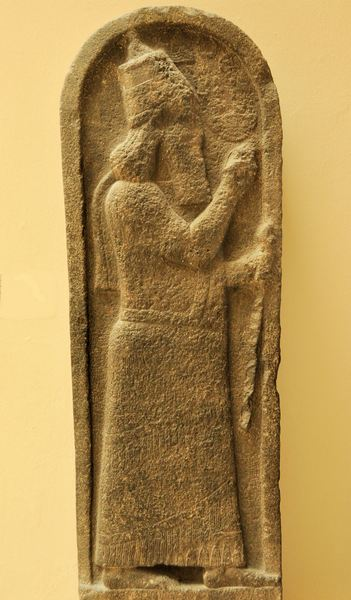Kition, Relief of Sargon II